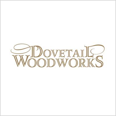 Dovetail Woodworks logo design cover