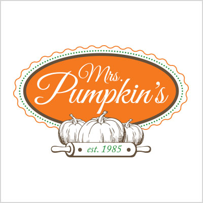 Mrs Pumpkin's logo design cover