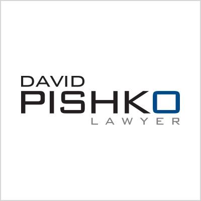 David Pishko Lawyer logo design cover