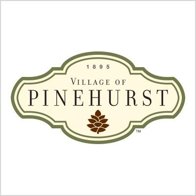 Village of Pinehurst Logo design cover