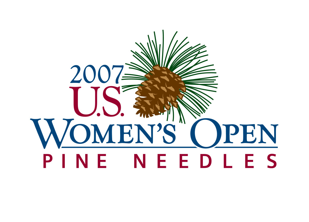 2007 U.S. Open Woman's Open at Pine Needles logo design