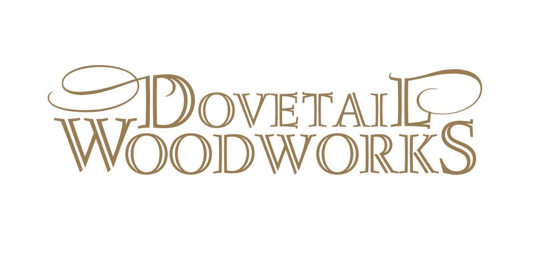 Dovetail Woodworks logo design