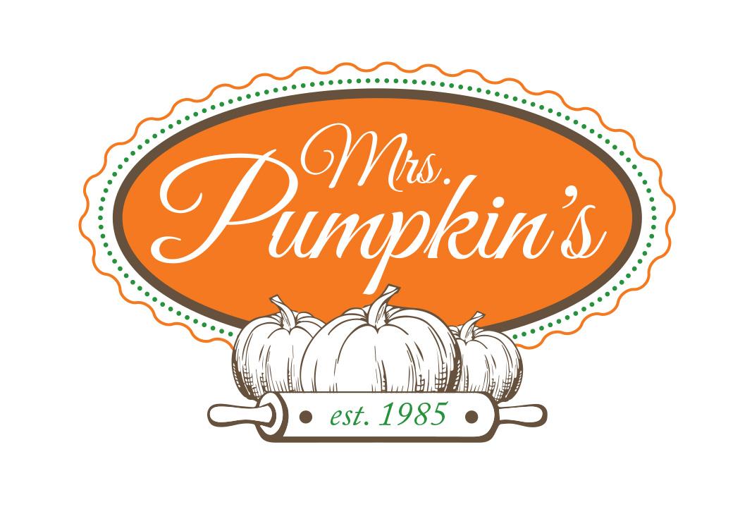 Mrs Pumpkin's logo design