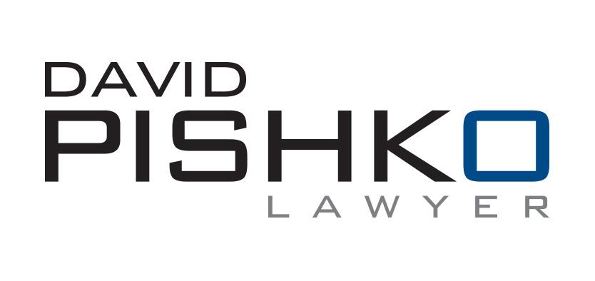 David Pishko Lawyer logo design