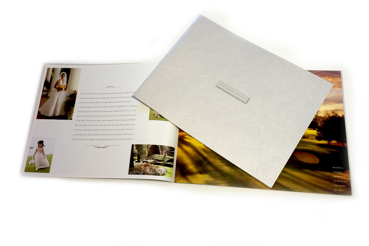 Pinehurst wedding brochure