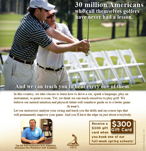 Pinehurst Golf Academy beat email