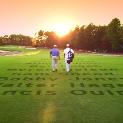 Pinehurst Resort Legends and Championships TV Spots cover