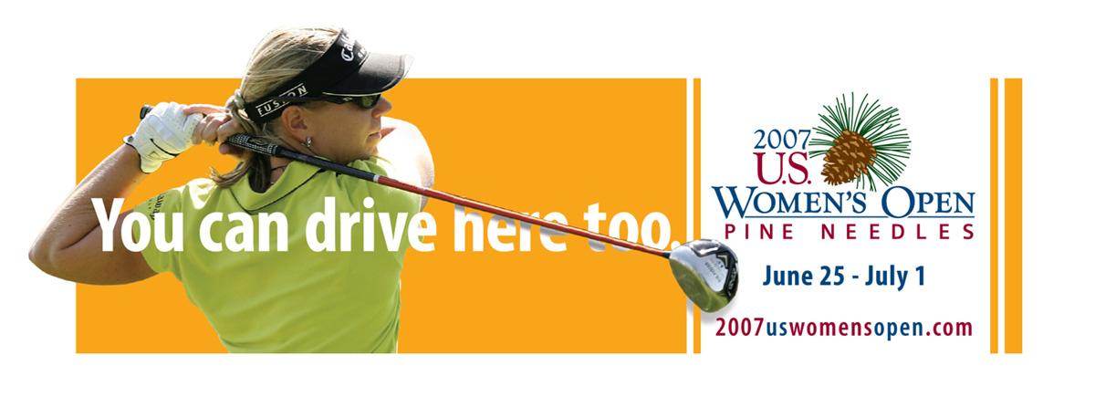 USGA - 2007 U.S. Open Womens Championship Outdoor board