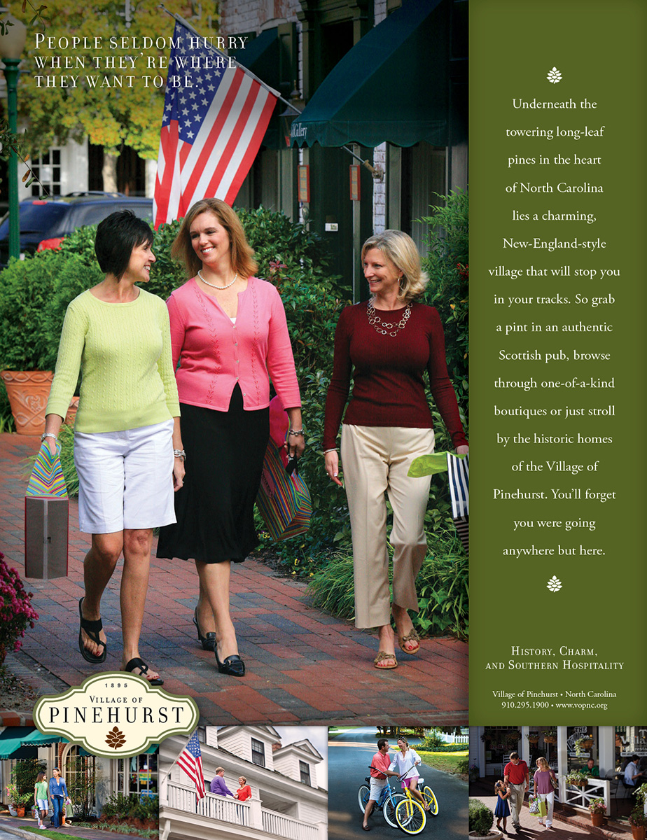 Village of Pinehurst ad