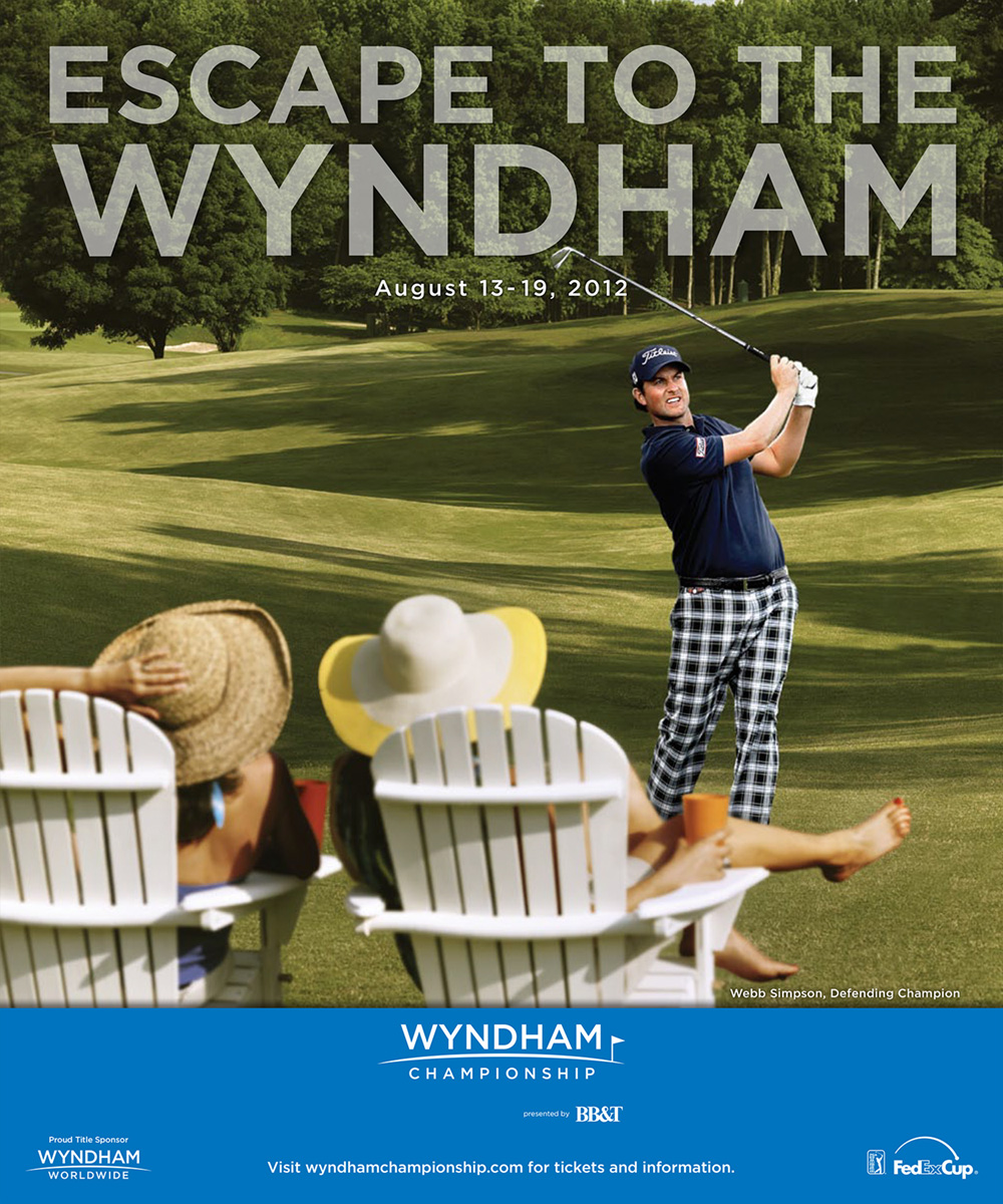 Wyndham Championship - 2012 Escape to the Wyndham ad