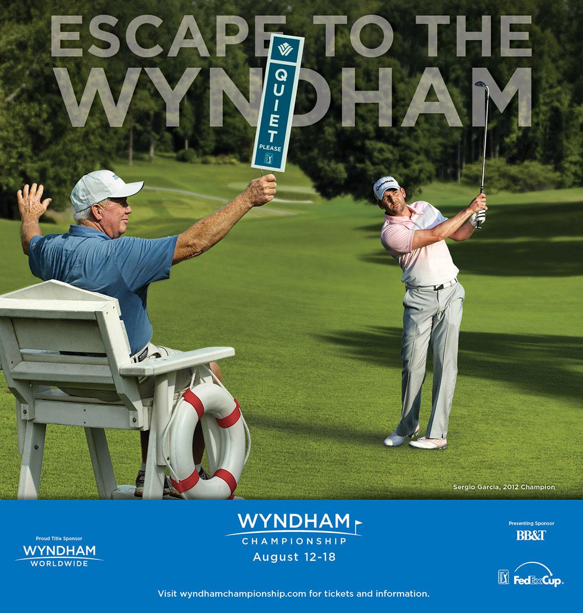 Wyndham Championship - 2013 Escape to the Wyndham ad
