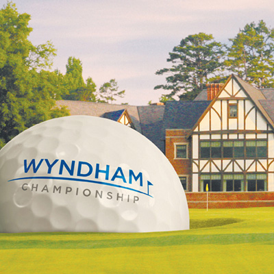 Wyndham Championship - Piedmont Triad golf ad cover