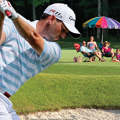 Wyndham Championship - 2013 Escape to the Wyndham ad cover