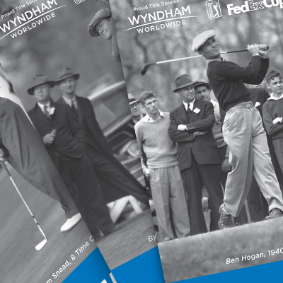 Wyndham Championship 75th anniversary tickets cover