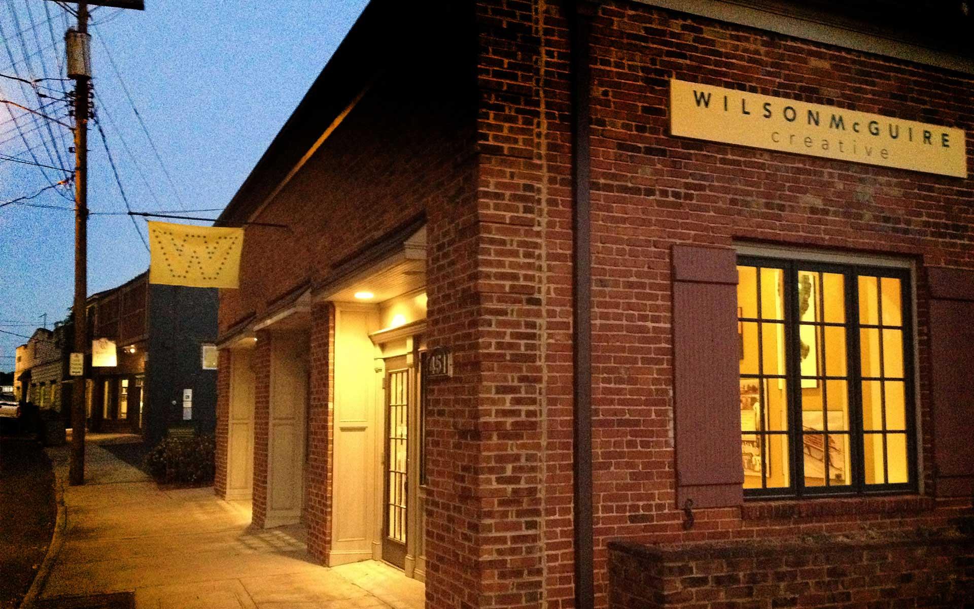 WilsonMcGuire Creative building exterior