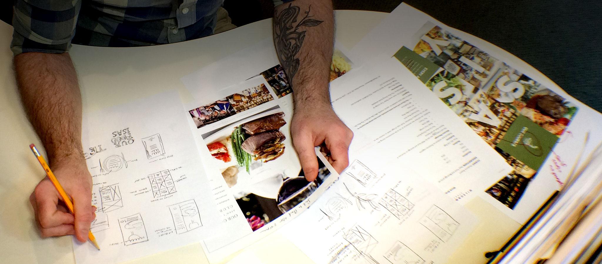 WilsonMcGuire creative Philip designing
